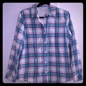 Lee Riders sz S flannel button down shirt
